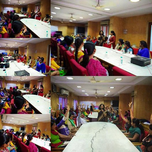 #Women#wellness#workshop for #Ahmedabad #municipal #corporation #working#Women date 29-3-16 at#south #zone office