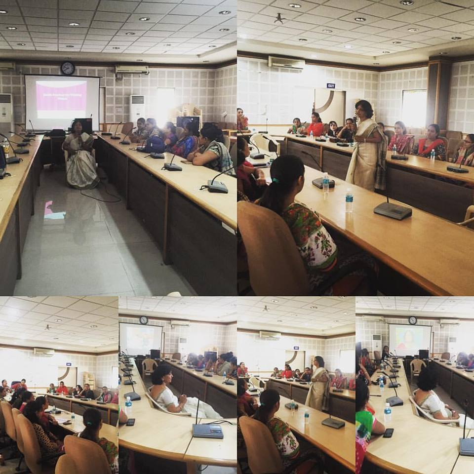 #working #Women and #worklifebalance #workshop for Muni corporation south zone office 4-4-16