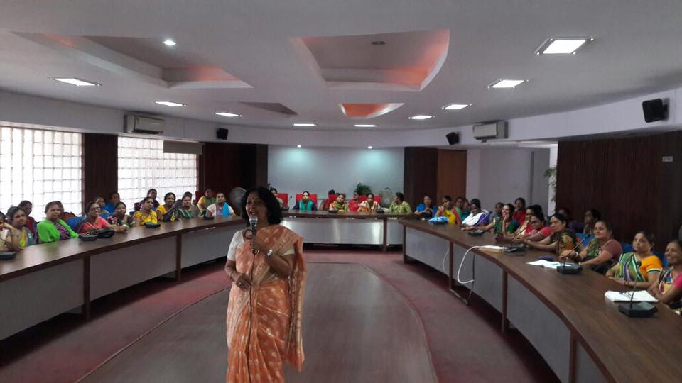 Women wellness and high energy work life workshop for 81 ASHA workers