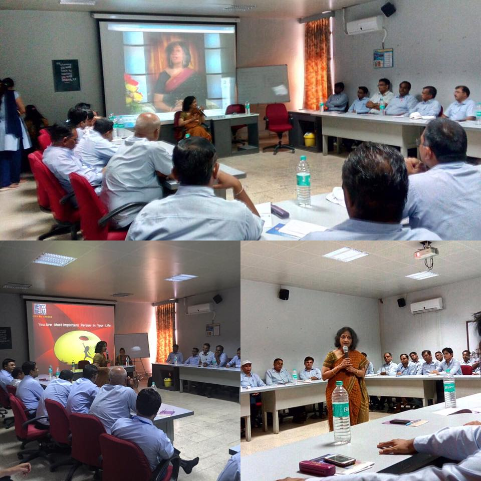Positive health and stress management workshop at Dudhsagar dairy Mehsana